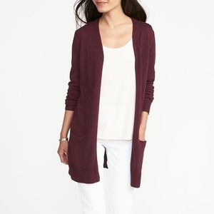 Old Navy Longline Open Front Cardigan (M)